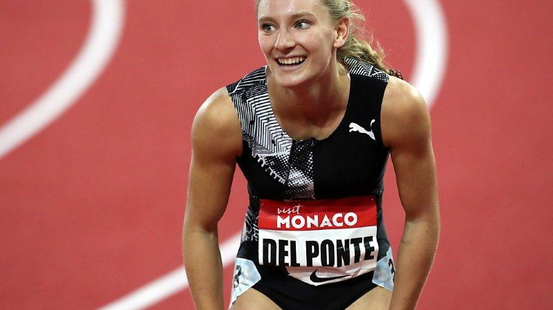 Athlétisme: Ajla Del Ponte s'impose à Stockholm