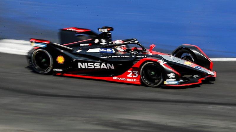 Formule E: Sébastien Buemi 3e, battu par les Mercedes à Berlin