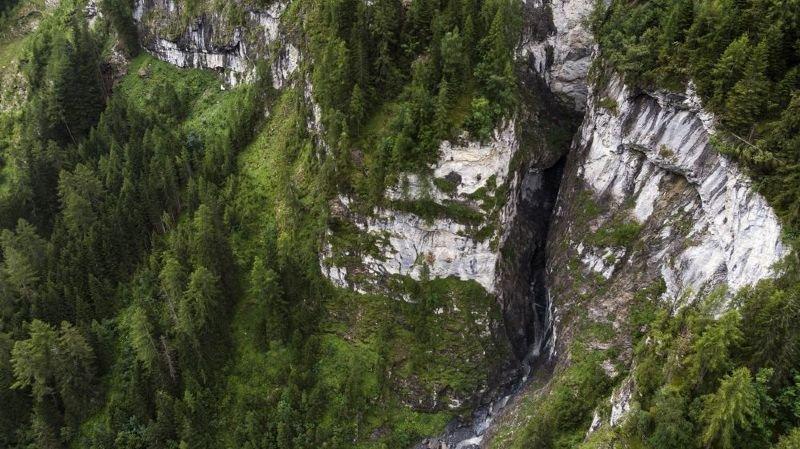 Tragique accident de canyoning près de Vättis (SG): les recherches stoppées par la montée des eaux