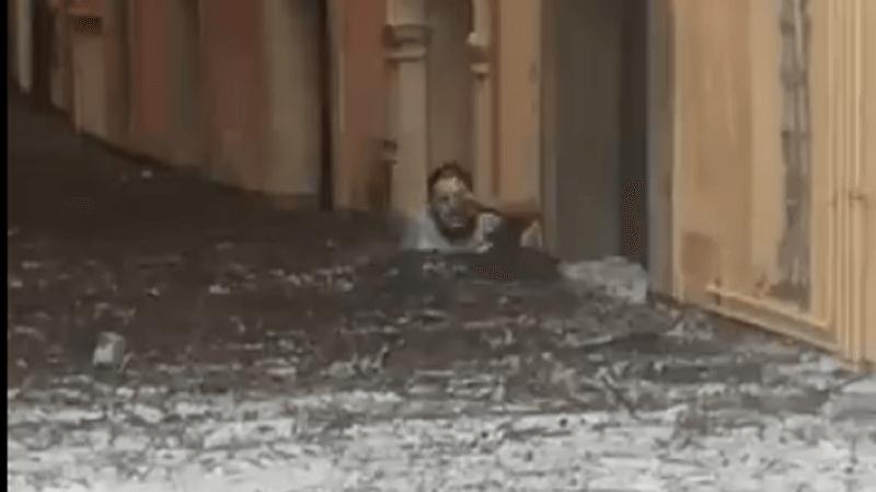 Italie: violente tempête de grêle à Vérone et dans sa région