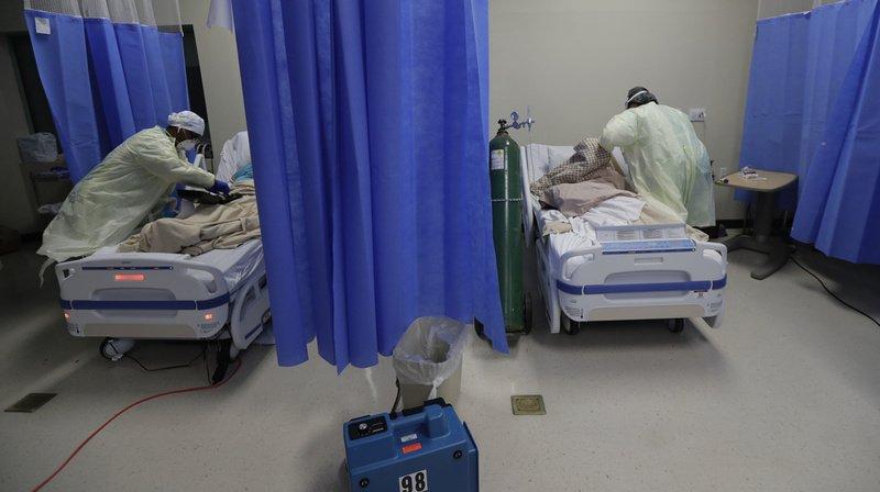 Coronavirus: 1302 nouveaux décès liés au Covid-19 en 24 heures aux Etats-Unis