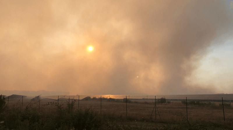 France: près de 200 hectares détruits dans un incendie de forêt en Gironde