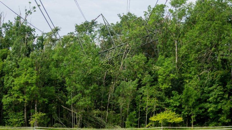 Pas de traces d'explosifs dans le sabotage du pylône à Gland
