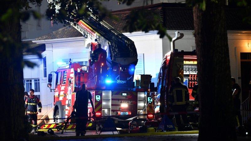Incendie à La Métairie: son auteur reste en détention