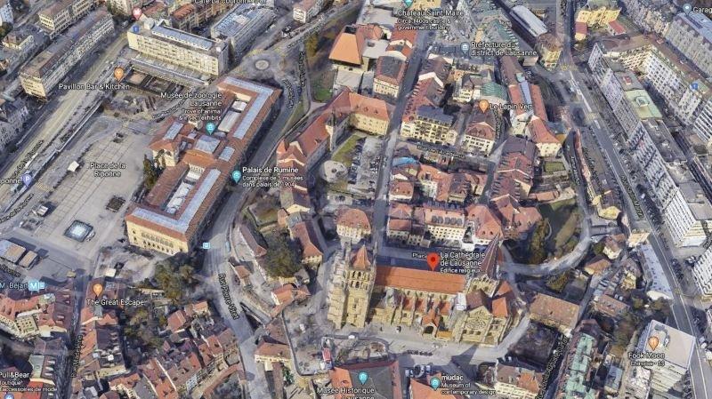 Le cœur de Lausanne devient zone piétonne