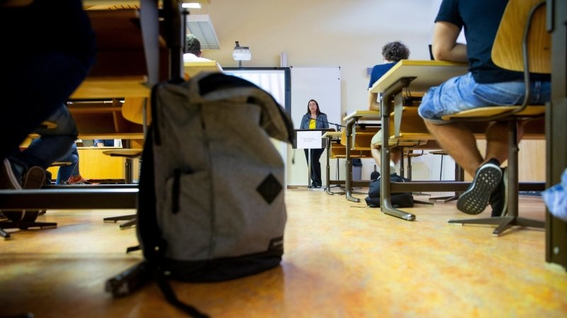 Cesla Amarelle a fait le point sur la rentrée scolaire, ce mercredi à Savigny.