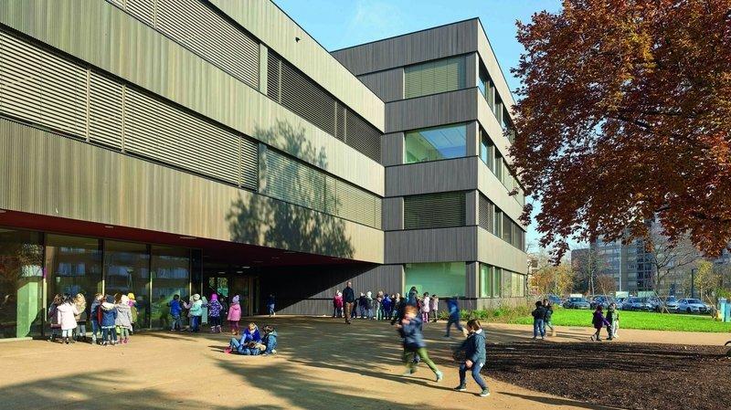 Une école de Nyon récompensée pour son architecture