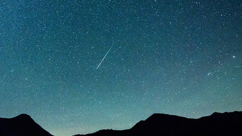 Limiter la pollution lumineuse permet de mieux voir les étoiles filantes (Image prétexte).