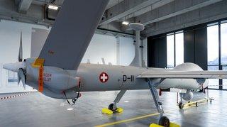 Un drone destiné à armasuisse s'écrase en Israël lors d'un essai