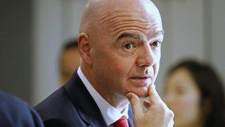Football: Infantino restera président de la FIFA malgré la procédure pénale en Suisse