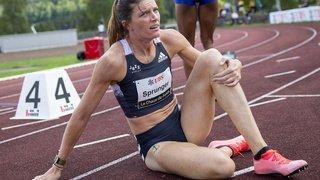 Athlétisme: Sprunger déçoit, Joseph l'emporte, Kambundji sur le podium