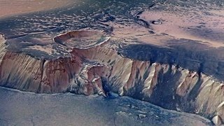Espace: dans sa jeunesse, Mars a pu héberger de vastes glacier