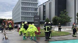 Un blessé et des pompiers mobilisés par un incident chimique au data center de Gland