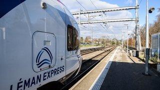 Léman Express: retour à la normale pas avant avril2021