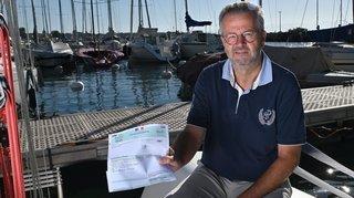 Le municipal nyonnais Maurice Gay amendé pour avoir navigué en eaux interdites