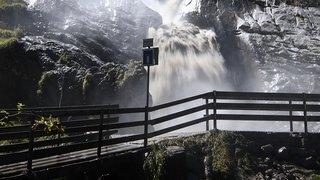 Le lac des Faverges continue de se vider