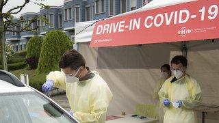 Coronavirus: la Suisse enregistre 70 nouveaux cas en 24 heures