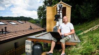 Gimel: il photographie des galaxies depuis son cabanon de jardin
