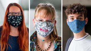 Sous les masques, les gymnasiens nyonnais ont fait leur rentrée