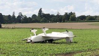 Aérodrome de Prangins: un avion finit sur le toit