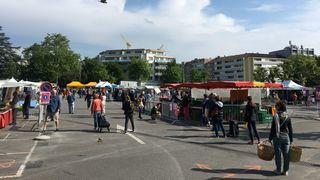 Morges: le marché de retour au centre-ville