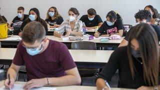 Gymnase: «Sans masque, les étudiants ne seront pas acceptés»