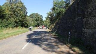 Jura: une passagère d'une voiture décède dans un accident à Courgenay