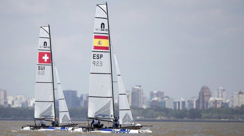 Arnaud Grange et Marie Van der Klink avaient représenté la Suisse aux Jeux olympiques de la Jeuness,  en 2018, dans cette catégorie des Nacra 15.