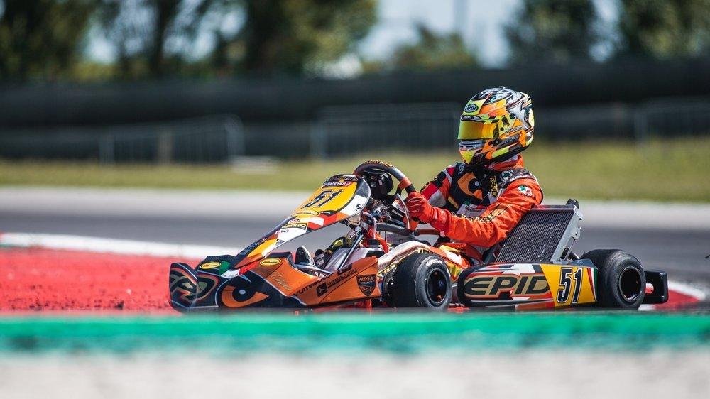 Pour 2021, le Glandois de 17 ans rêve de Formule Renault ou de F3 régionale.