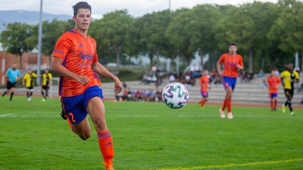 """Nahuel Cervantes et les """"orange"""" ont enfin goûté au succès cette saison."""