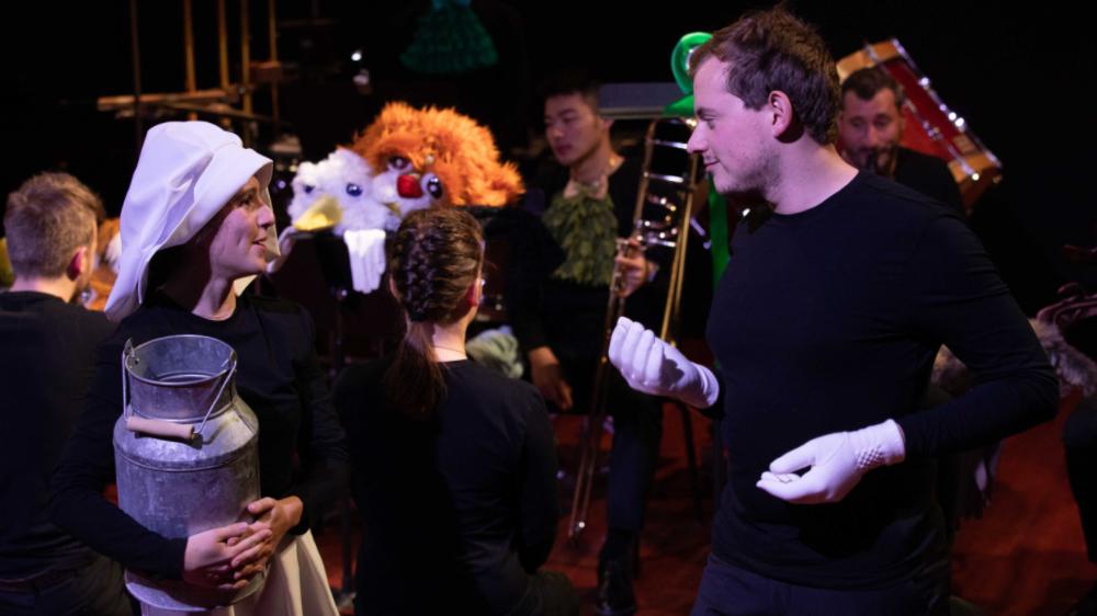 """L'ensemble Variante présentera """"Le carnaval des animaux"""" et """"Ma mère l'Oye"""", ce dimanche, au Théâtre de Grand-Champ. Un spectacle musical pour enfants dès 7 ans plein d'humour et de fantaisie."""