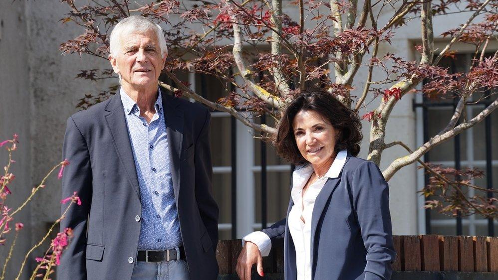 Georges Richard, municipal, et Florence Sage, syndique, entament leur dernière année à l'exécutif.
