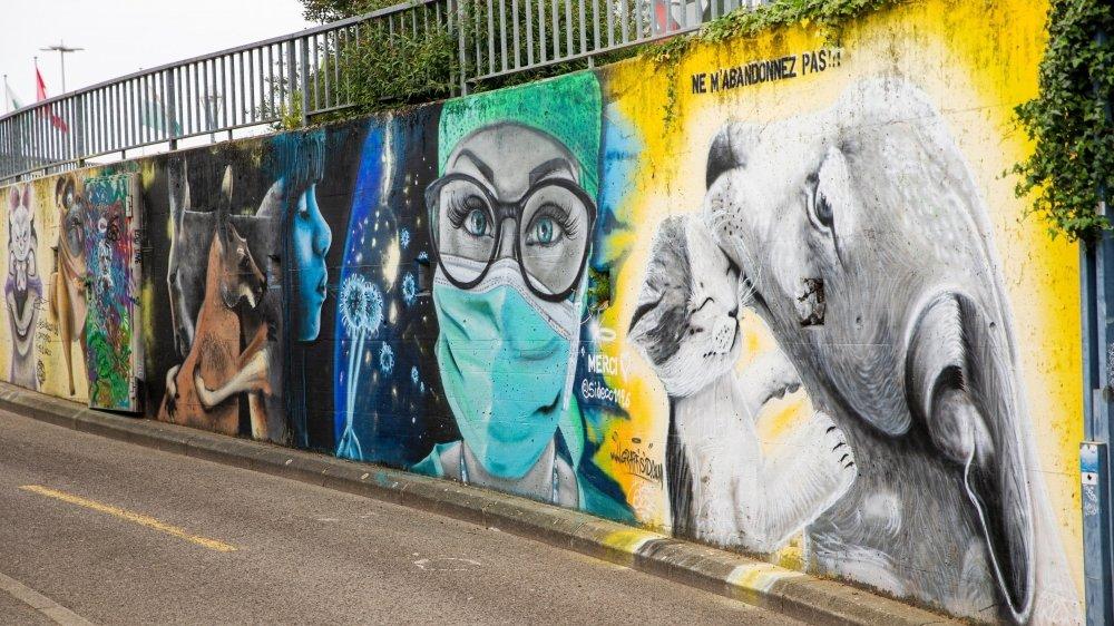 Par le passé, la Ville avait déjà mis à disposition un mur au graffeur SID.