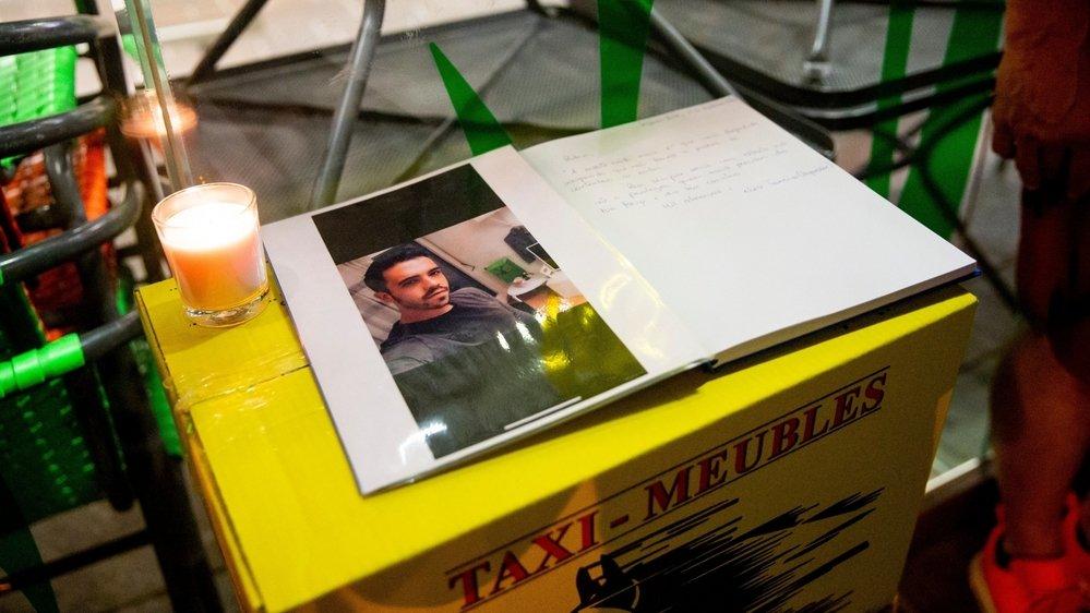 Un hommage a été rendu à Joao, lundi soir à Morges, sur les lieux du drame.