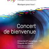 Concert de bienvenue du Conservatoire
