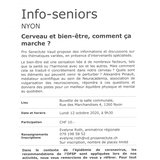 Info-seniors - Cerveau et bien-être