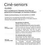 Ciné-seniors Gland - Un nouveau jour sur terre