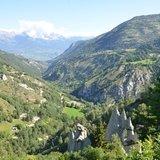 Paysages du Val d'Hérens : le rôle des glaciers