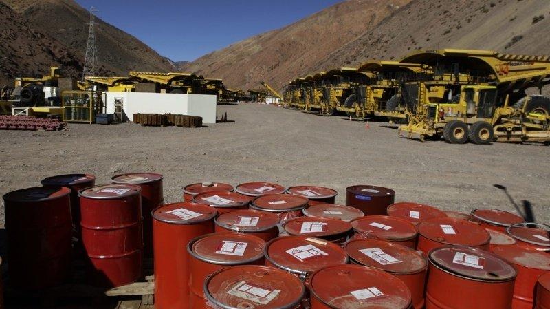 Une amende de 9 millions de dollars a été ordonnée contre la société minière canadienne Barrick Gold, deuxième producteur d'or au monde (ILLUSTRATION).
