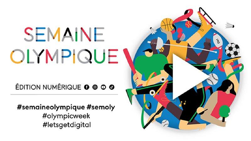 La Semaine olympique se met au numérique !
