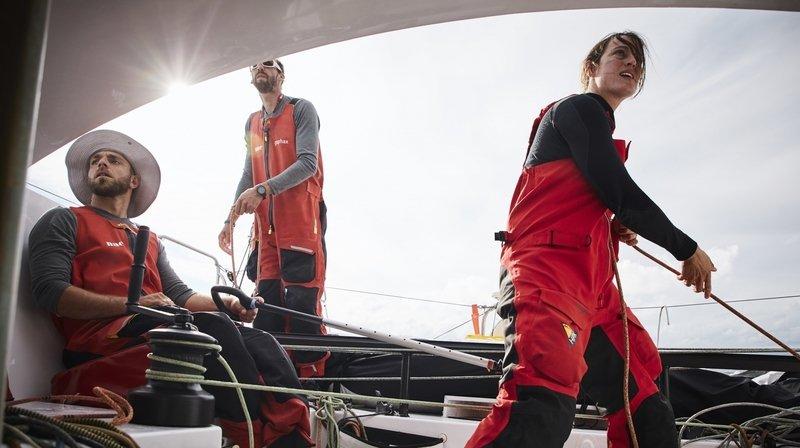 Voile: record pour deux navigateurs de La Côte