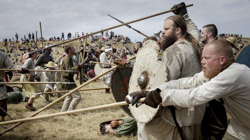 Les Vikings étaient un peuple navigateur qui a essaimé de nombreux pays (illustration).
