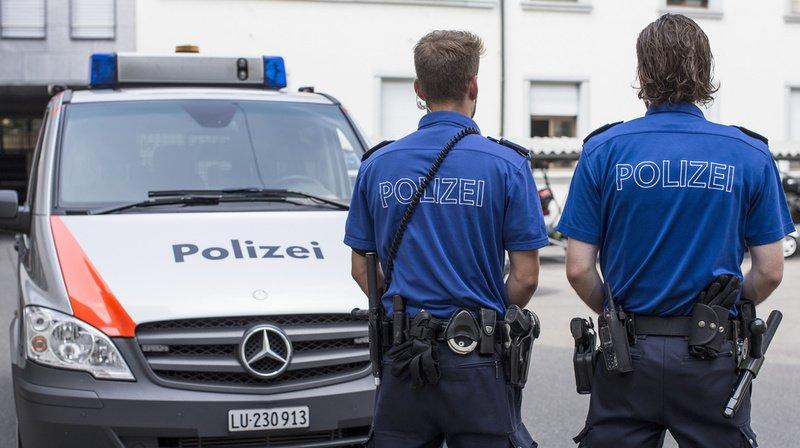Lucerne: la police a arrêté quatre jeunes voleurs présumés de voitures