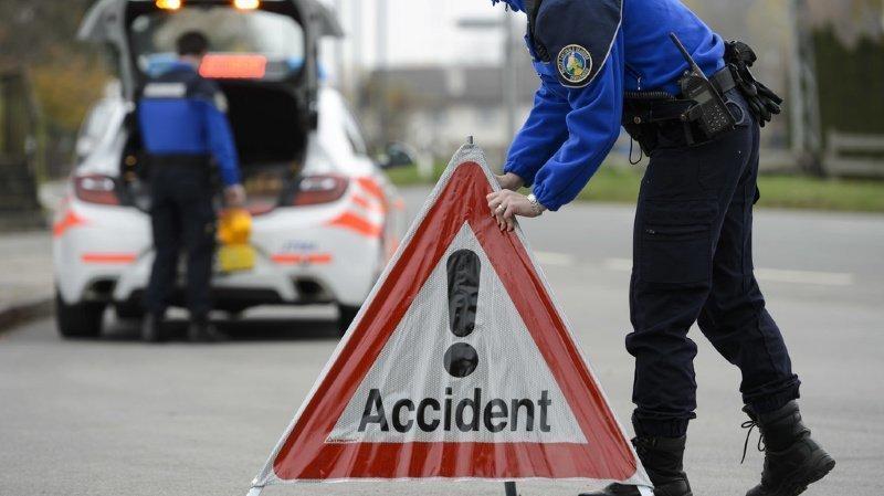 Les deux accidents ont eu lieu entre Ecublens et Morges Est.