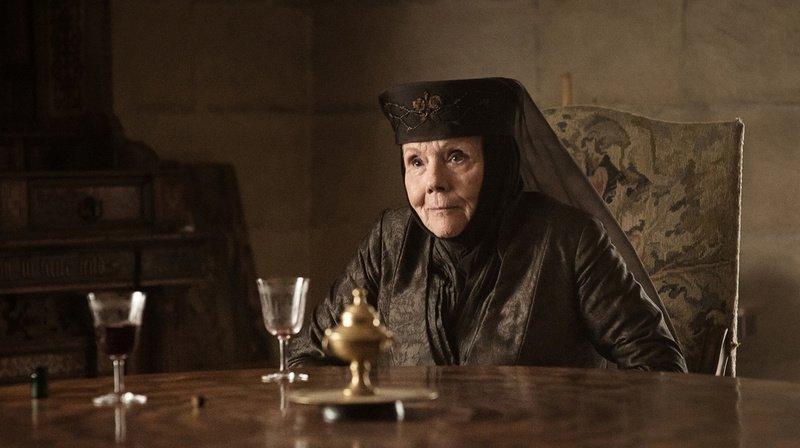 Diana Rigg a joué le rôle d'Olenna Tyrell dans Game of Thrones.