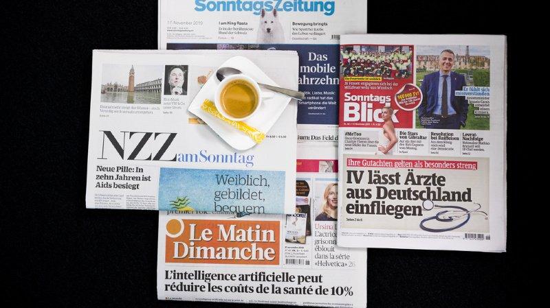 Revue de presse: le coronavirus, CarPostal et l'impact de la 5G sur le climat… les titres de ce dimanche
