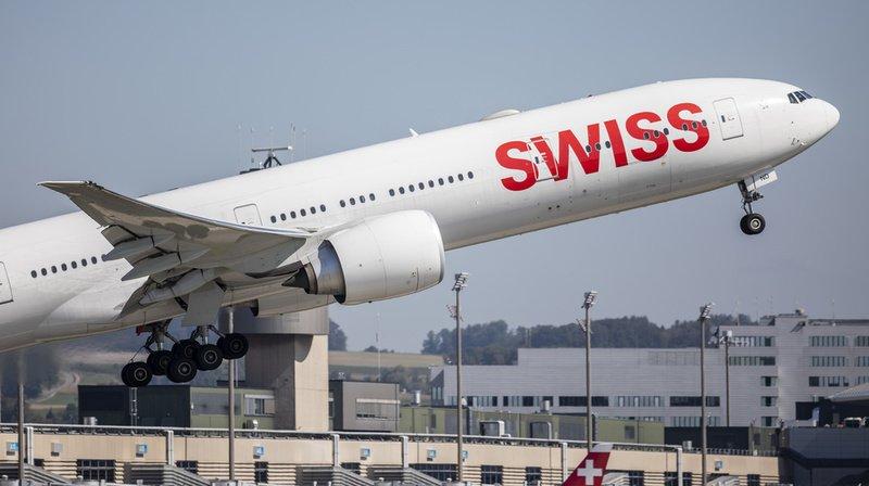 Transport aérien – Swiss supprime les frais de modification de réservation
