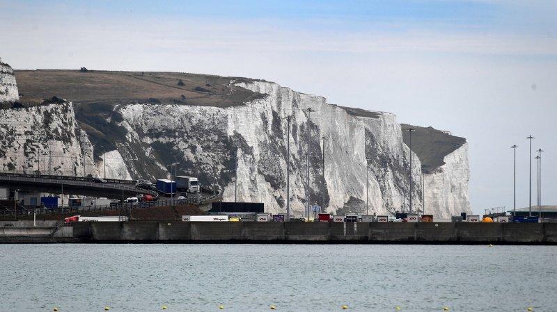 La ville de Douvres connaît des records d'arrivées de migrants par la Manche (ILLUSTRATION).