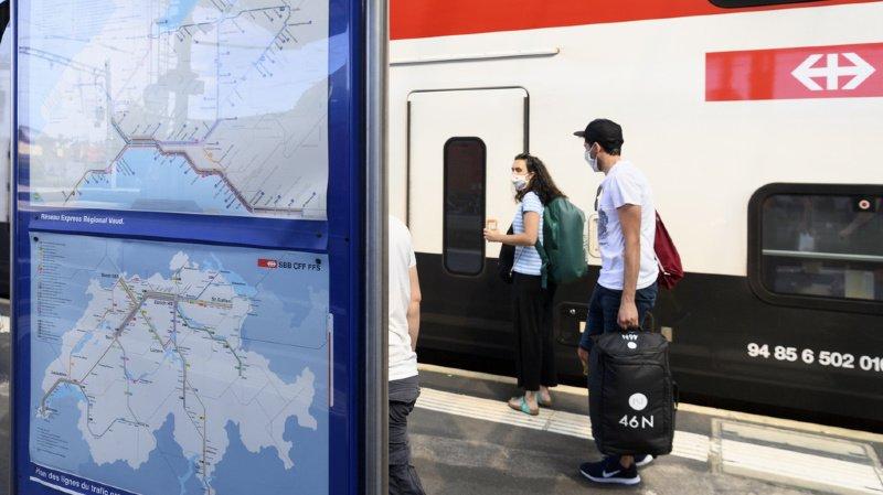 Trafic ferroviaire: importants retards après la chute d'un arbre chute sur la ligne Bâle - Fribourg (D)