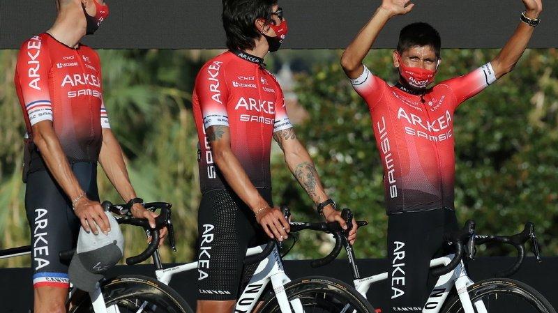 Une perquisition visant plusieurs coureurs de l'équipe Arkea-Samsic a été menée.